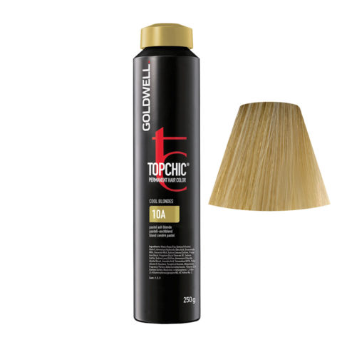 10A Rubio ceniza pastel Goldwell Topchic Cool blondes can 250ml
