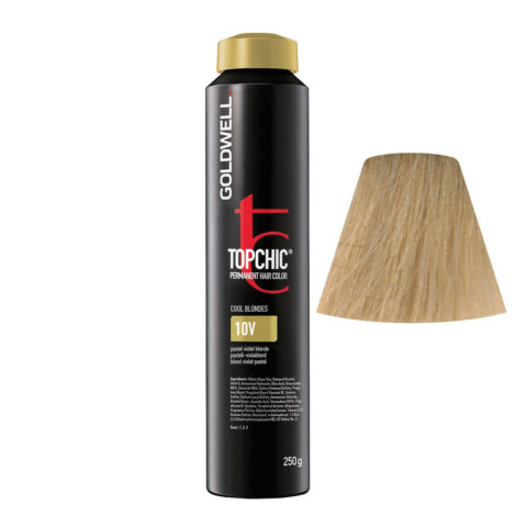 10V Rubio violeta pastel Goldwell Topchic Cool blondes can 250gr