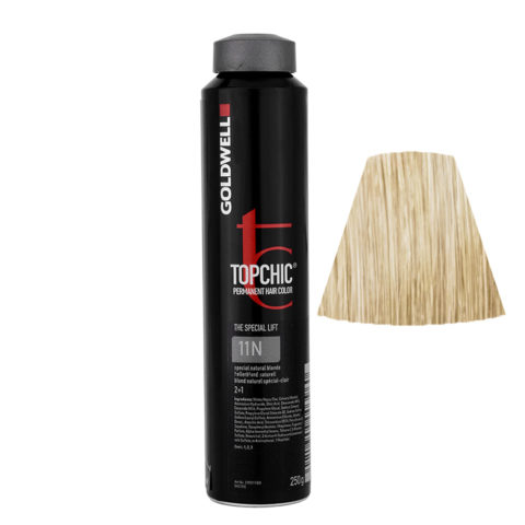 11N Rubio más claro natural Goldwell Topchic Special lift can 250gr
