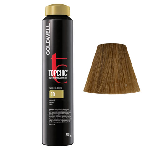 8B Arena Goldwell Topchic Warm blondes can 250gr