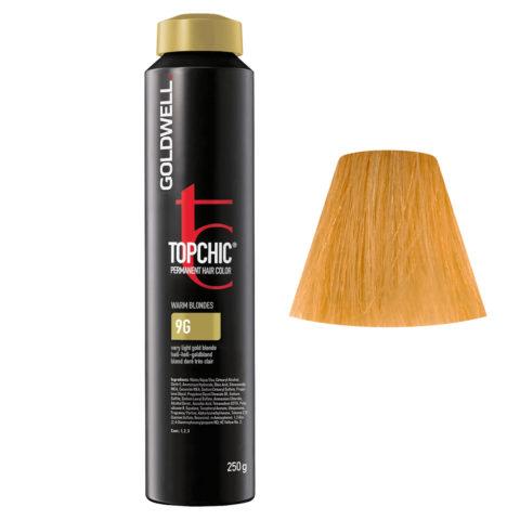 9G Rubio dorado muy claro Goldwell Topchic Warm blondes can 250gr