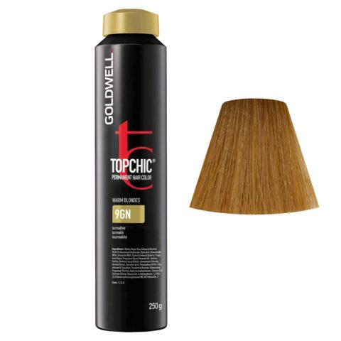 9GN Turmalina Goldwell Topchic Warm blondes can 250gr