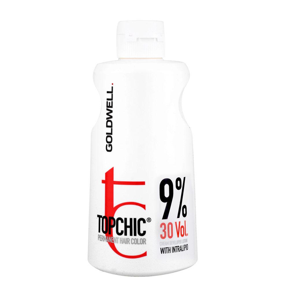 Goldwell Topchic Cream developer lotion 9% 30 vol. 1000ml