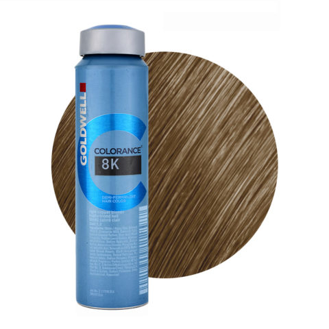 8K Rubio Cobre Claro Goldwell Colorance Warm reds can 120ml