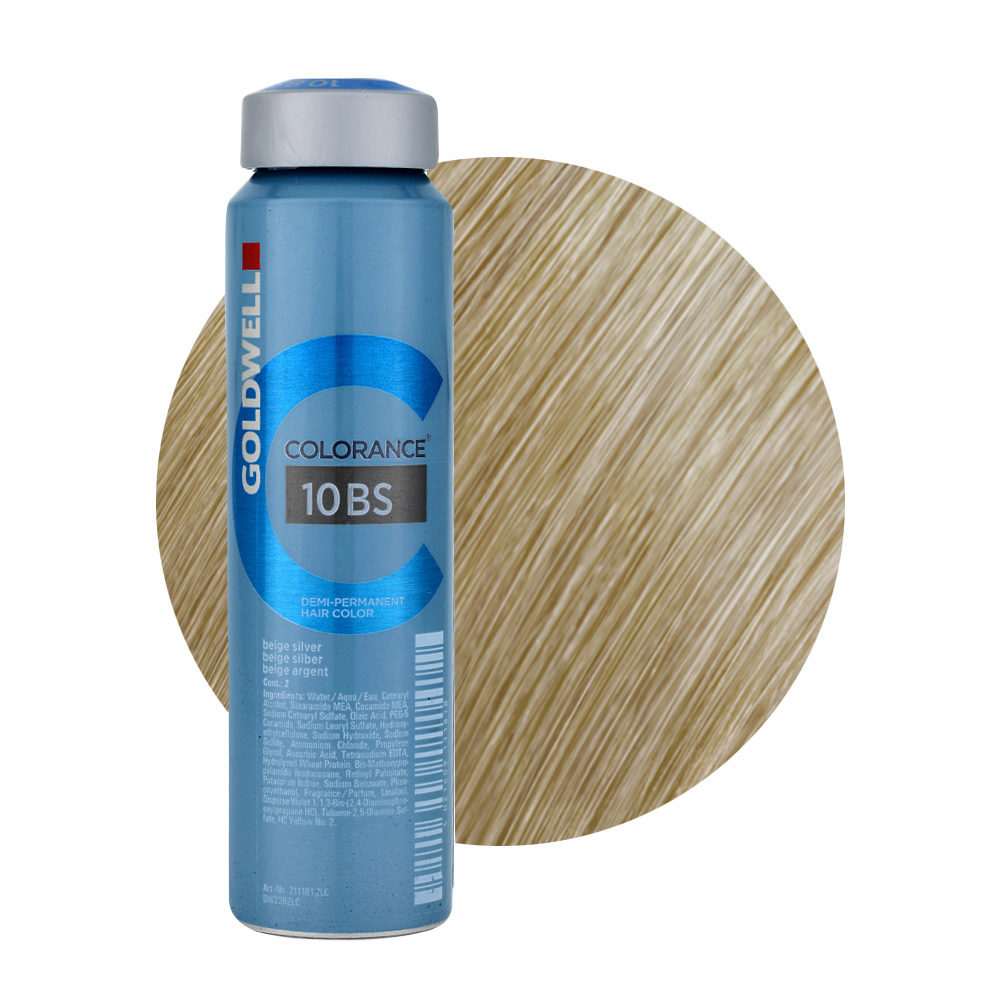 10BS Beige Plata Goldwell Colorance Cool blondes can 120ml