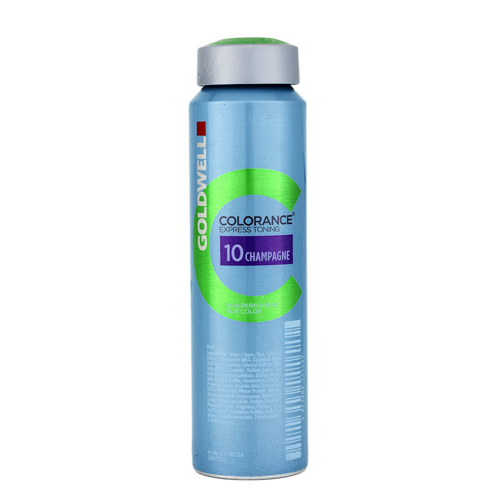 10 Champagne Goldwell Colorance Express Toning can 120ml