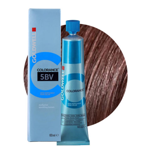 5BV Reallusion sparkling brown Goldwell Colorance Cool browns tb 60ml