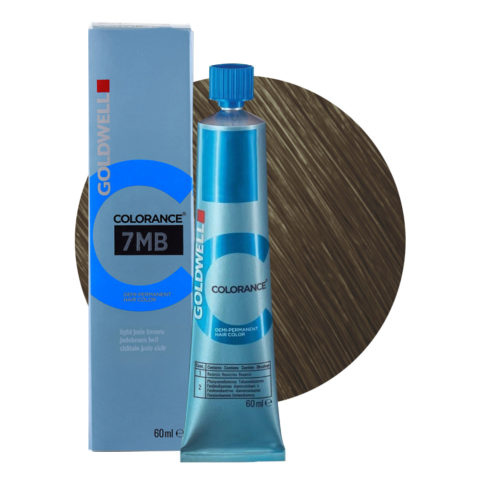 7MB Castaño jade claro Goldwell Colorance Cool browns tb 60ml