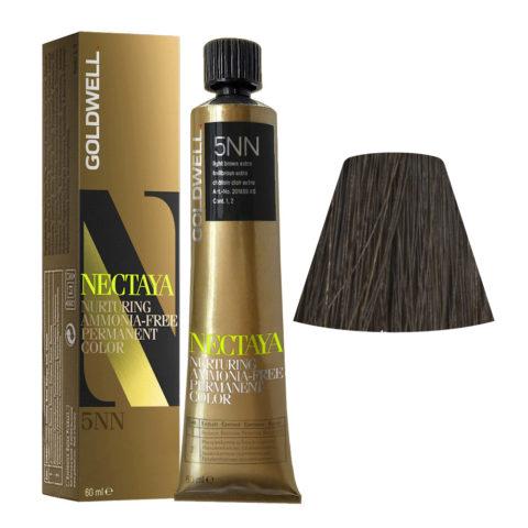 5NN Castaño claro intenso Goldwell Nectaya Naturals tb 60ml