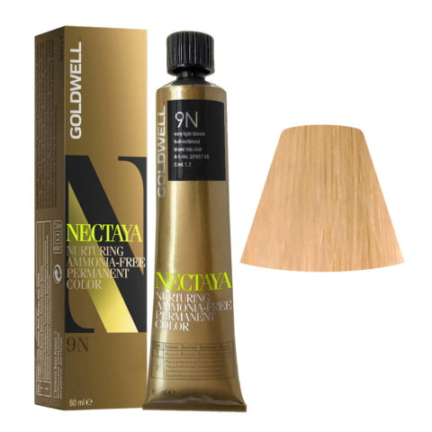 9N Rubio muy claro natural Goldwell Nectaya Naturals tb 60ml