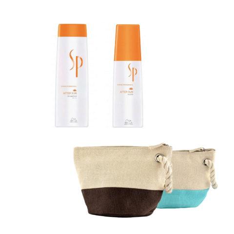 Wella SP After sun kit shampoo 250ml fluid 125ml en regalo bolsa