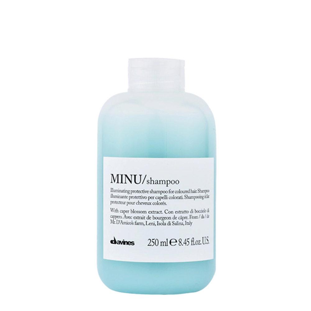 Davines Essential hair care Minu Shampoo 250ml - Champú ilumindaor