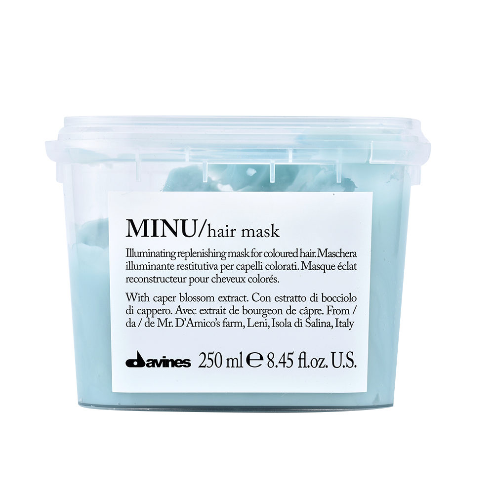 Davines Essential hair care Minu Hair mask 250ml - Mascarilla iluminadora