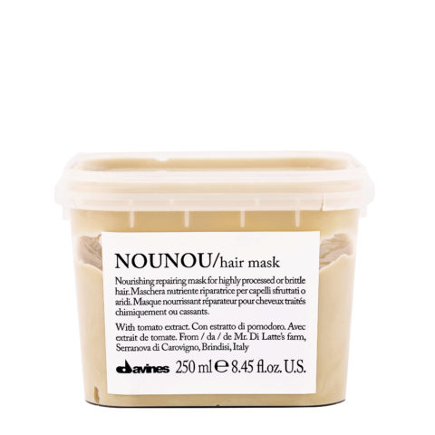 Davines Essential hair care Nounou Pak Hair Mask 250ml - Mascarilla Nutritiva y Reparadora