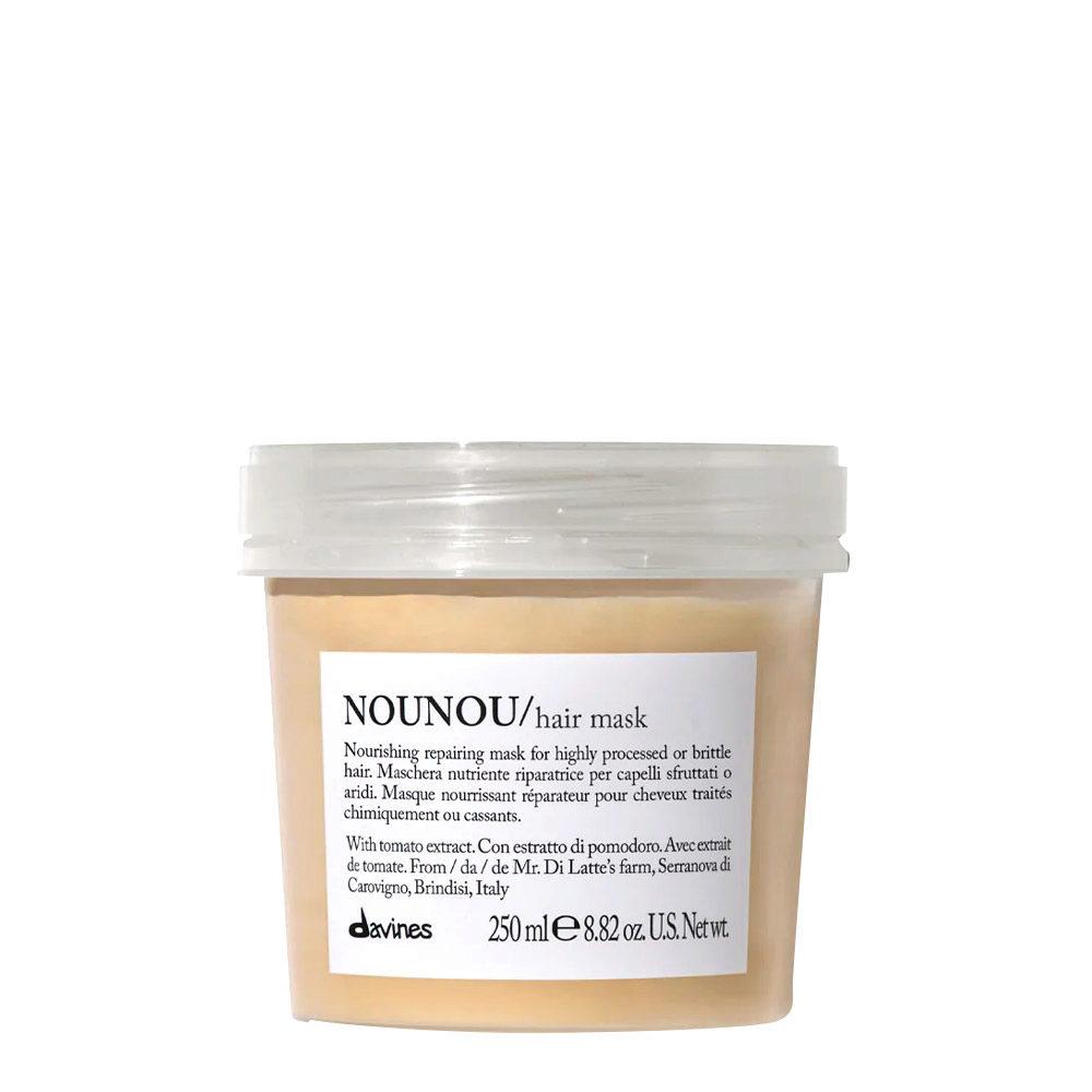 Davines Essential hair care Nounou Pak Hair Mask 250ml - Mascarilla Nutritiva y Reparadora