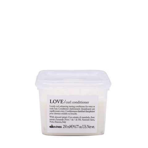 Davines Essential hair care Love curl Conditioner 250ml - Acondicionador elastizante disciplinante