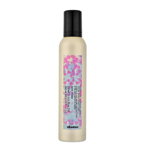 Davines More inside Curl moisturizing mousse 250ml - Espuma hidratante para rizos