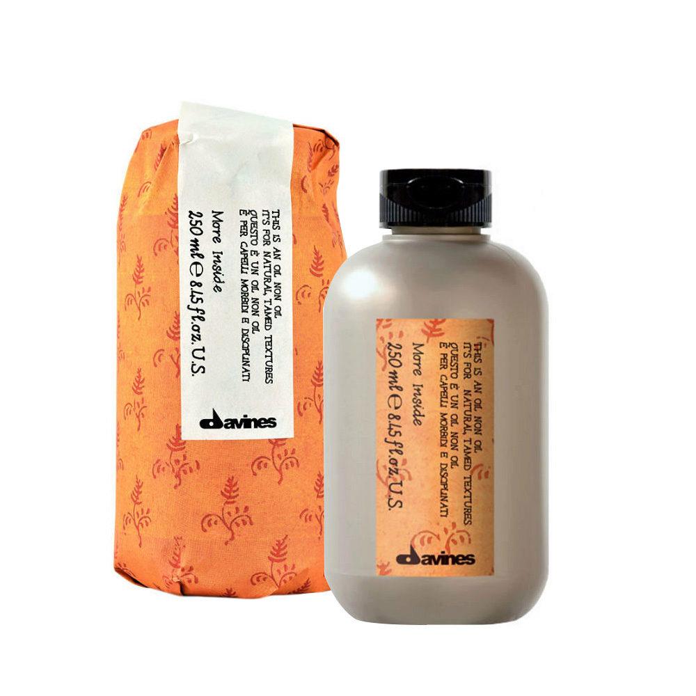 Davines More inside Oil non oil 250ml - Gel fluído sin fijación