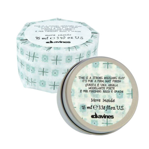 Davines More inside Strong moulding clay 75ml - Arcilla moldeadora fuerte