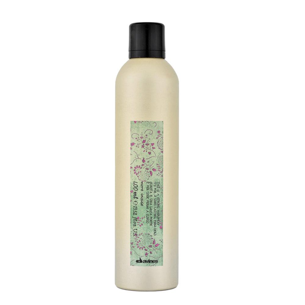 Davines More inside Strong hairspray 400ml - laca fuerte