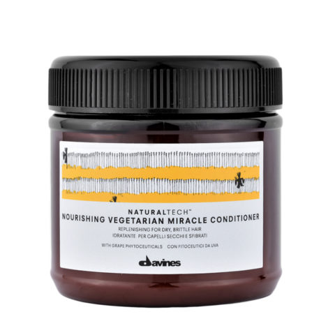 Davines Naturaltech Nourishing Vegetarian Miracle Conditioner 250ml - Mascarilla reestructurante