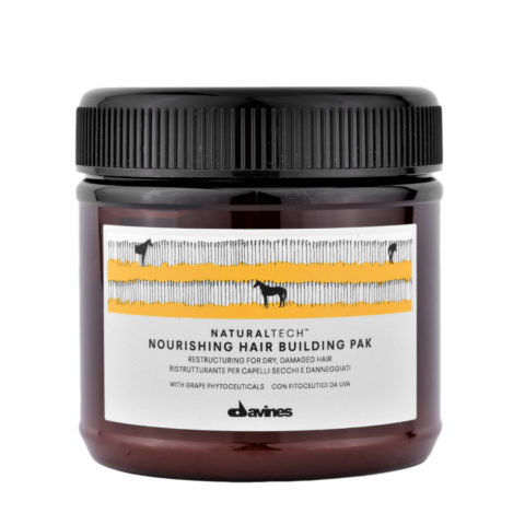 Davines Nourishing Hair Building Pak Hair Mask 250ml - Mascarilla reestructurante
