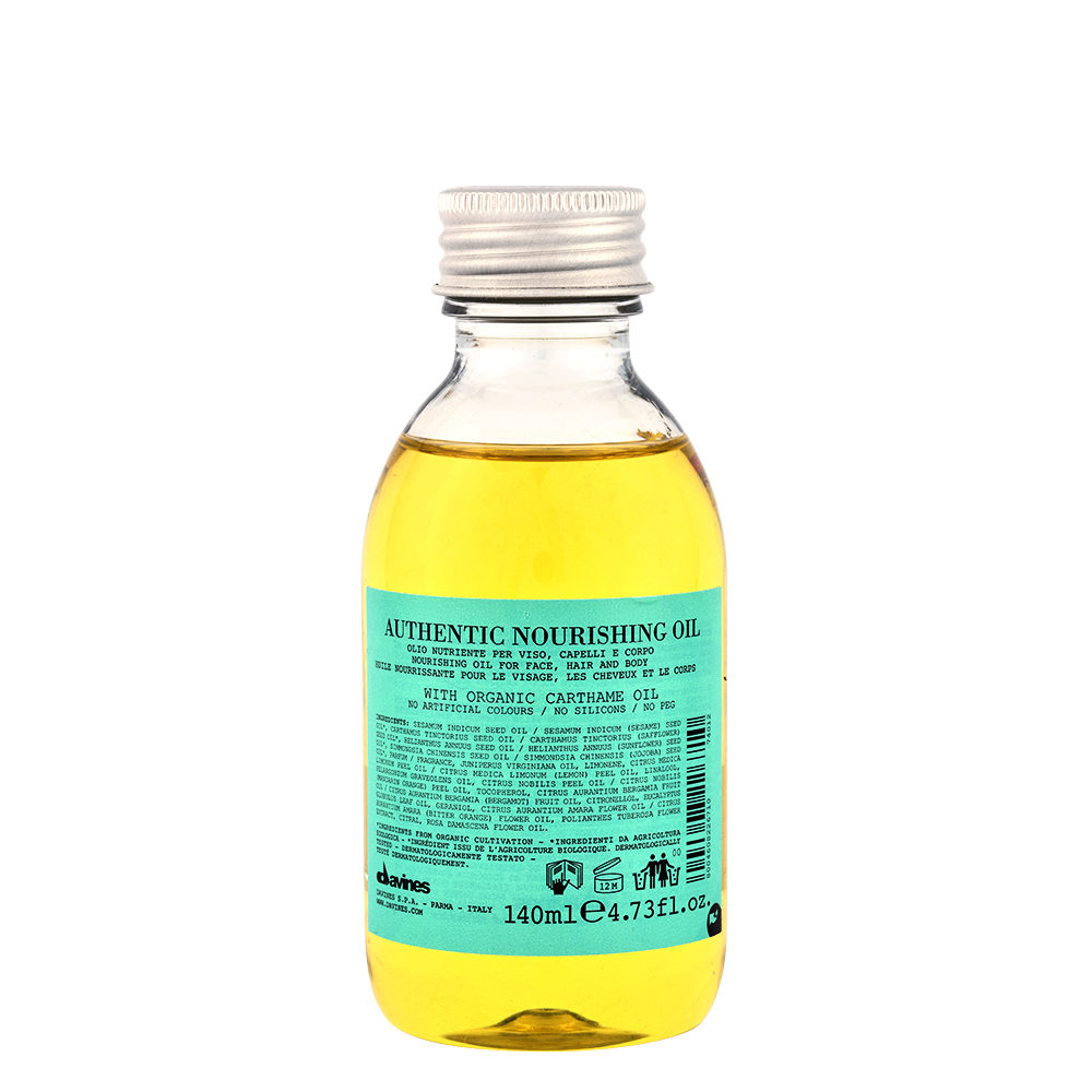 Davines Authentic Nourishing oil 140ml - aceite nutritivo para cabello y cuerpo