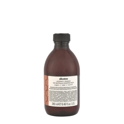 Davines Alchemic Shampoo Copper 280ml - champú para cabello cobrizo