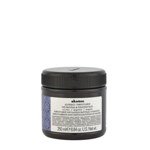Davines Alchemic Conditioner Silver 250ml - Acondicionador Coloreado Para Cabello Cano