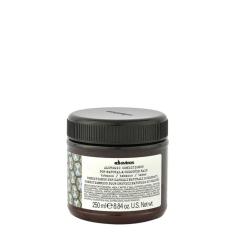 Davines Alchemic Conditioner Tobacco 250ml - Acondicionador coloreado para cabello marrón