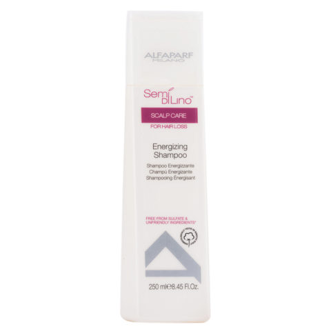 Alfaparf Semi di lino Scalp care Energizing shampoo 250ml - Champú energizante