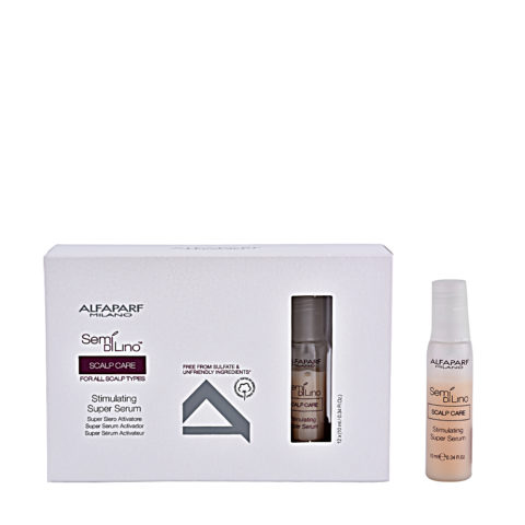 Alfaparf Semi di lino Scalp care Serum renovador capilar 12x10ml