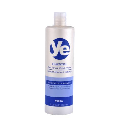 Alfaparf YE Yellow Essential ultra shampoo 500ml - champú cabello seco