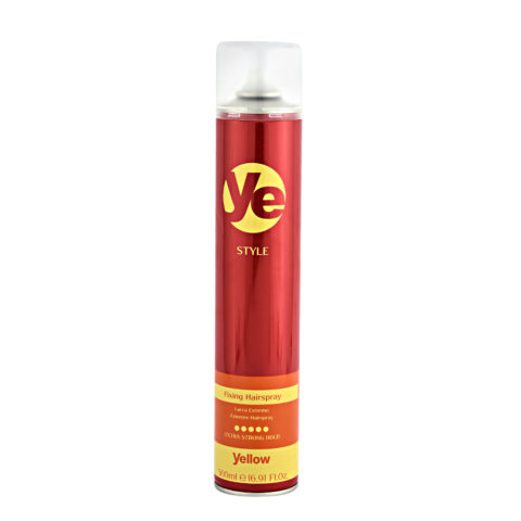 Alfaparf Ye Yellow Style Fixing Hairspray 500ml - Laca FijacióN Fuerte