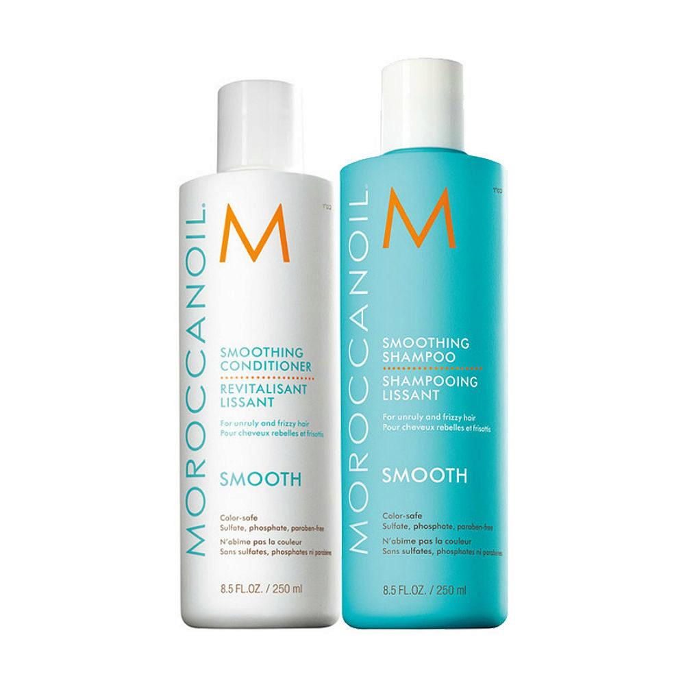 Moroccanoil Smoothing Kit Shampoo 250ml Conditioner 250ml
