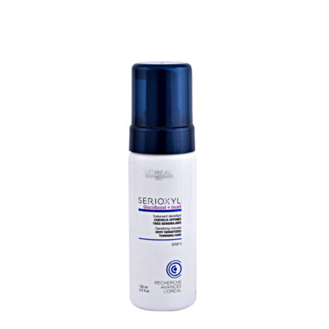 L'Oreal Serioxyl Aqua mousse Foam tech Densifying treatment cabello muy sensibilizado 125ml