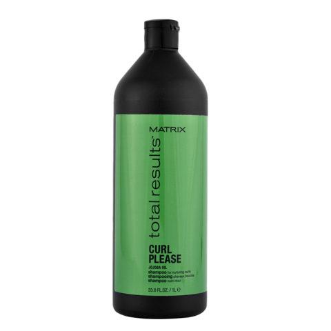 Matrix Total Results Curl please Jojoba oil Shampoo 1000ml