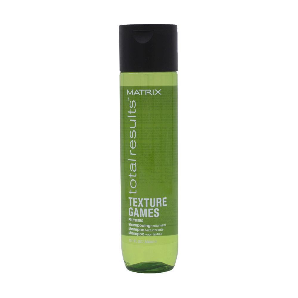 Matrix Total Results Texture games Polymers Shampoo 300ml - Champú con polímeros