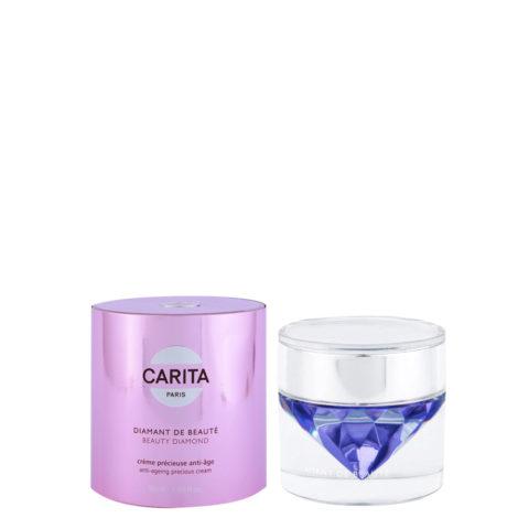 Carita Skincare Soin d'exception Diamant de beauté Creme Precieuse anti-age 50ml - Crema regeneradora reafirmante