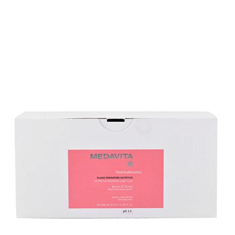 Medavita Lenghts Nutrisubstance Nutritive fluido reparador nutritivo pH 3.5  24x10ml