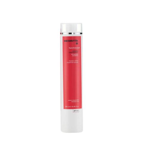 Medavita Lenghts Hairchitecture Volumizing shampoo pH 5.5  250ml Champú Volumen