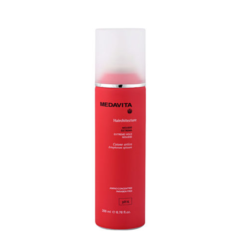 Medavita Lenghts Hairchitecture Espuma fijación extrema pH 6  200ml