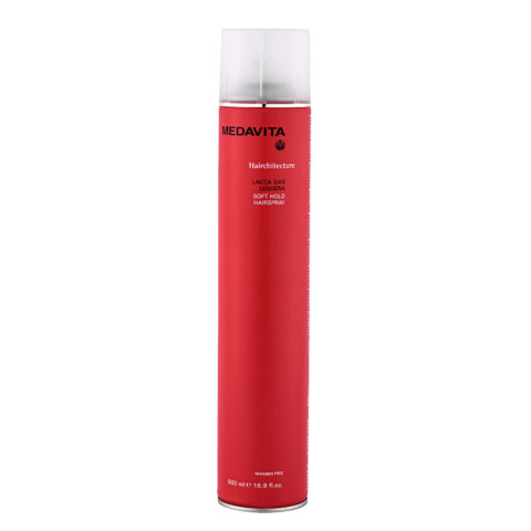 Medavita Lenghts Hairchitecture Laca con gas ligera  500ml