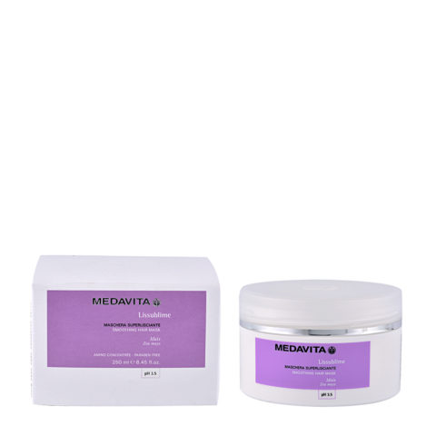 Medavita Lenghts Lissublime Smoothing hair mask pH 3.5  250ml Mascarilla super alisadora