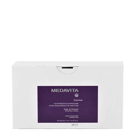 Medavita Lenghts Luxviva Emulsión protección del color pH 3.5  24x7ml
