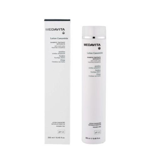 Medavita Scalp Lotion concentree Champú coadyuvante prevención caída del cabello pH 5.5  250ml