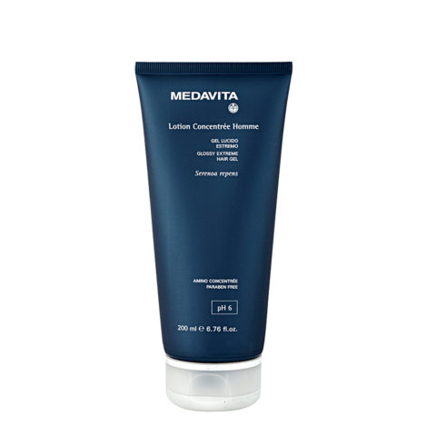 Medavita Cute Lotion concentree homme Glossy extreme hair gel  200ml - Gel brillante extremo