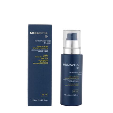 Medavita Scalp Lotion concentree homme shave Crema de afeitado suavizante y protectora pH 5.5  125ml