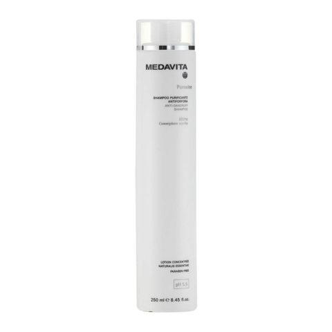 Medavita Cute Puroxine Anti-dandruff shampoo pH 5.5  250ml Champú purificante anticaspa