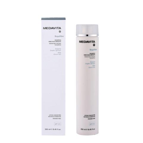 Medavita Cute Requilibre Sebum-balancing shampoo pH 5.5  250ml Champú sebo-equilibrador